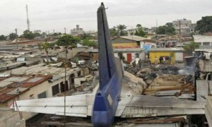 Compagnie Africaine d'Aviation crash